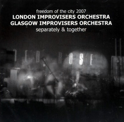 London & Glasgow improvisers orchestras